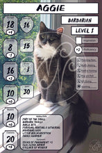 Custom Animal Companion Character Sheet