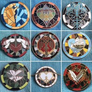 Dragon Age Companion Pins - Dragon Age 2