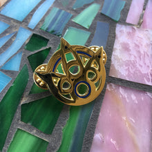 Yuna's Summoner Staff Enamel Pin