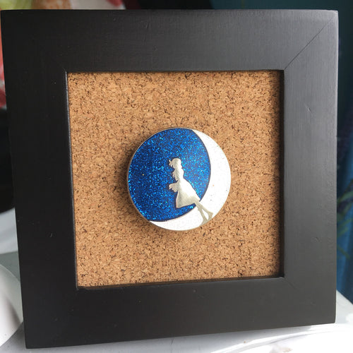 Lunar: The Silver Star - Luna Enamel Pin