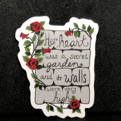 "The Princess Bride ""Secret Garden"" sticker"