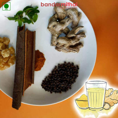 Ginger Kashayam Herbal Drink Powder (200 Gms) - Bandar Mithai (Andhra Home Foods)
