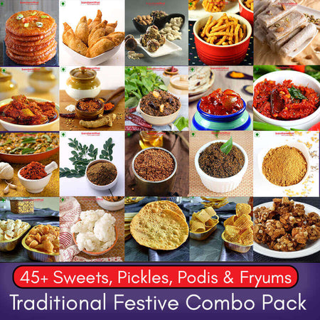 Traditional Festive Offer Pack - Bandar Mithai (Andhra Home Foods)