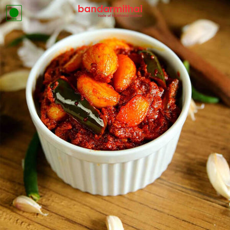 Garlic Pickle - Bandar Mithai (Andhra Home Foods)