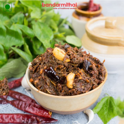 Gongura Pickle - Bandar Mithai (Andhra Home Foods)