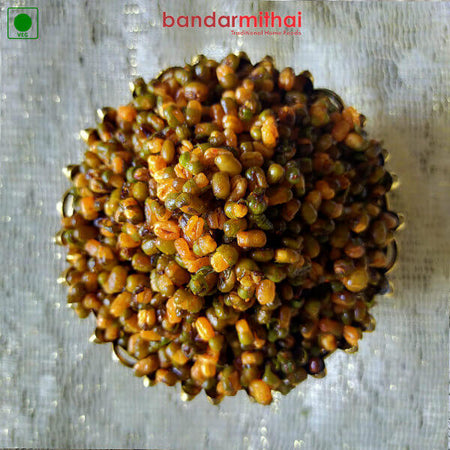 Fried Pesalu / Green Moong - Bandar Mithai (Andhra Home Foods)