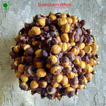 Salted Chana (Sand Fried - Oil less) - Bandar Mithai (Andhra Home Foods)