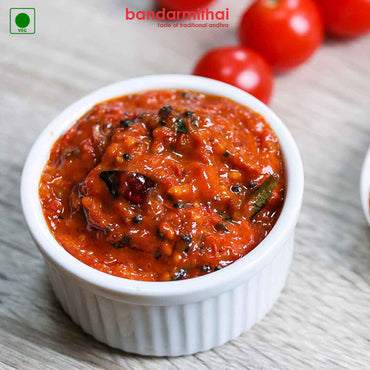 Tomato Pickle - Bandar Mithai (Andhra Home Foods)