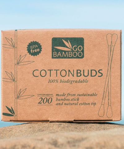 Eco Shop - Go Bamboo Cotton Buds