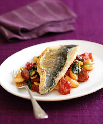 Recipes - Sea bass Speciality