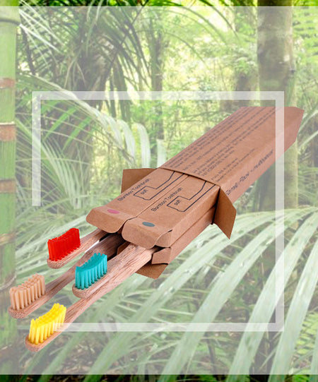 Eco Shop - Bamboo Toothbrushes
