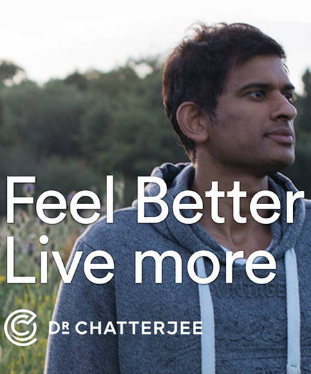 Podcast - Feel Better Live More with Dr. Chattergee