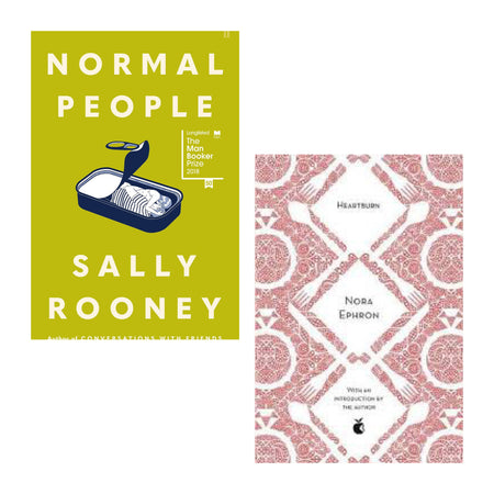 Books - Heartburn and Normal People