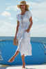 Annie Linen Dress | White