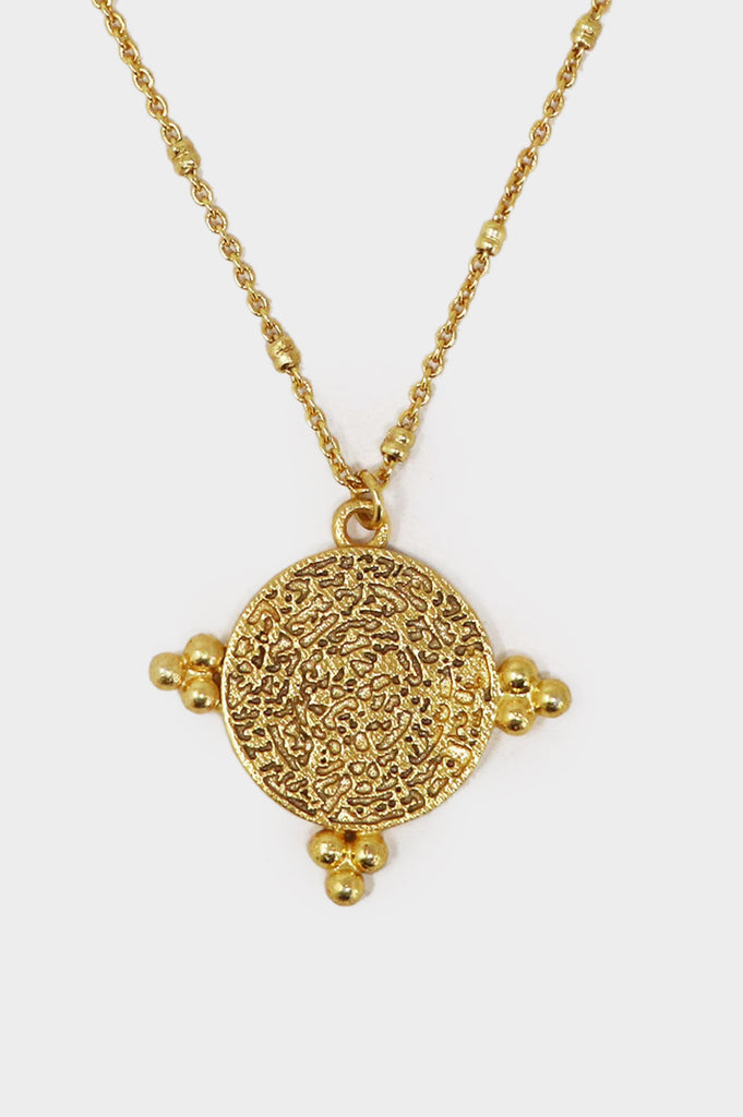 India Gold Coin Necklace | Gold