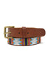Ayo Belt | White/Orange