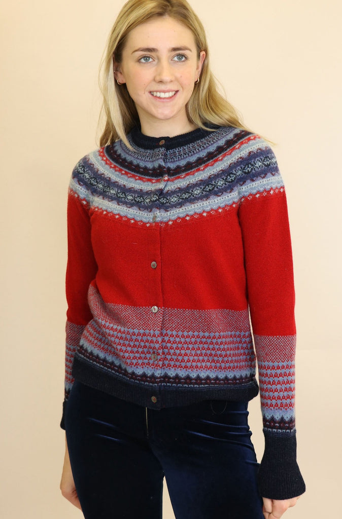Alpine Merino Wool Cardigan | Poppy