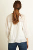 Barbara Cotton Blouse | White
