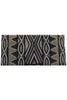 Becka Clutch | Black/Silver