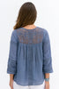 Camila Blouse | Blue