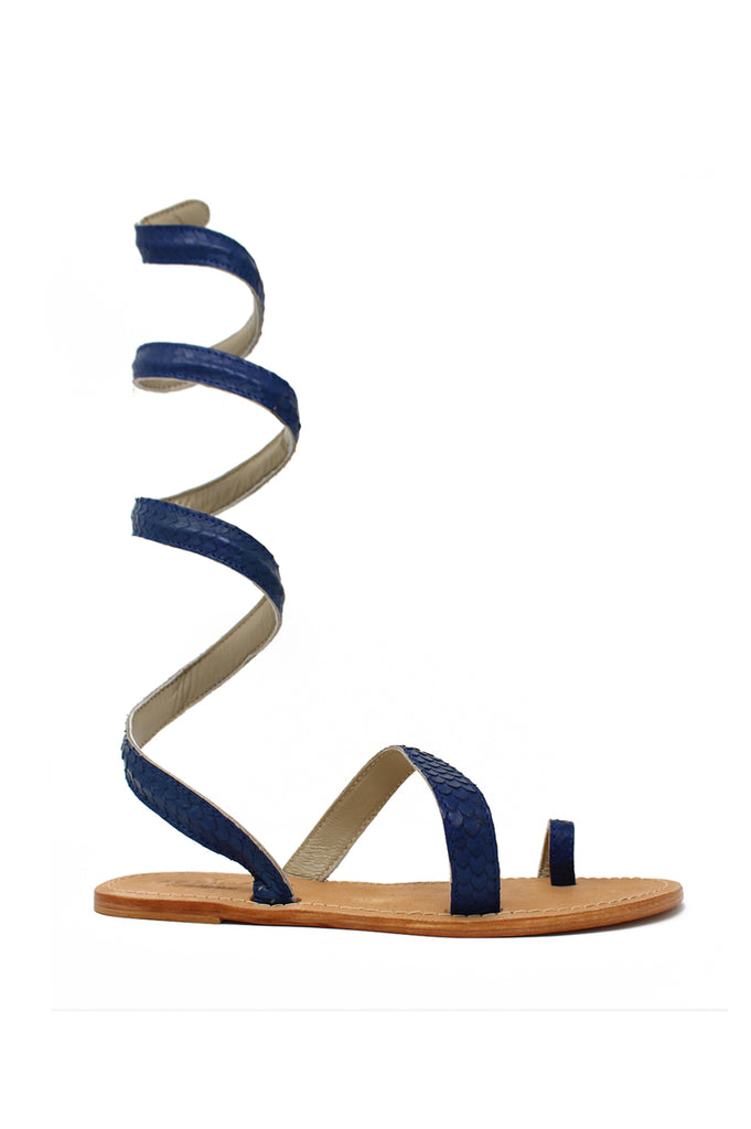 Cannes Sandals | Blue