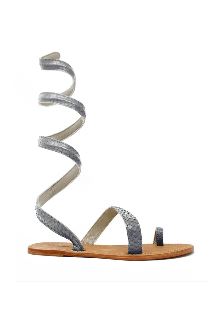Cannes Sandals | Grey
