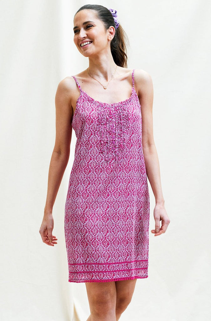 Cayo Organic Cotton Dress | Lilac