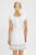 Como Embroidered Linen Dress by Sulu | White/ Light Gold - Aspiga