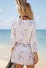 Ellie Cotton Kaftan | Silver Rose
