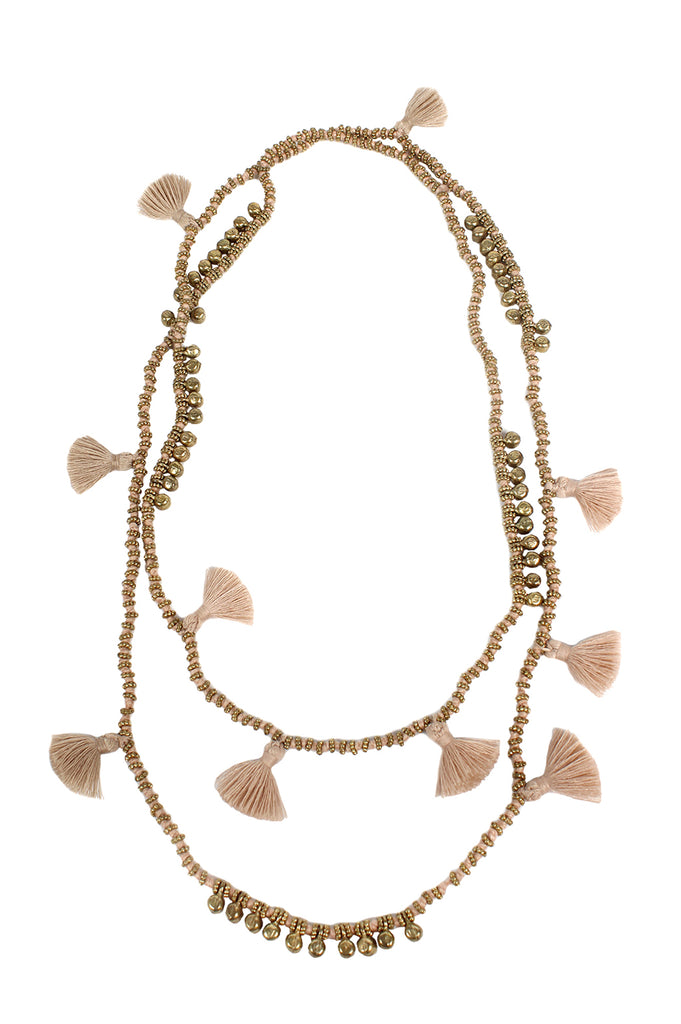 Farah Necklace | Sand