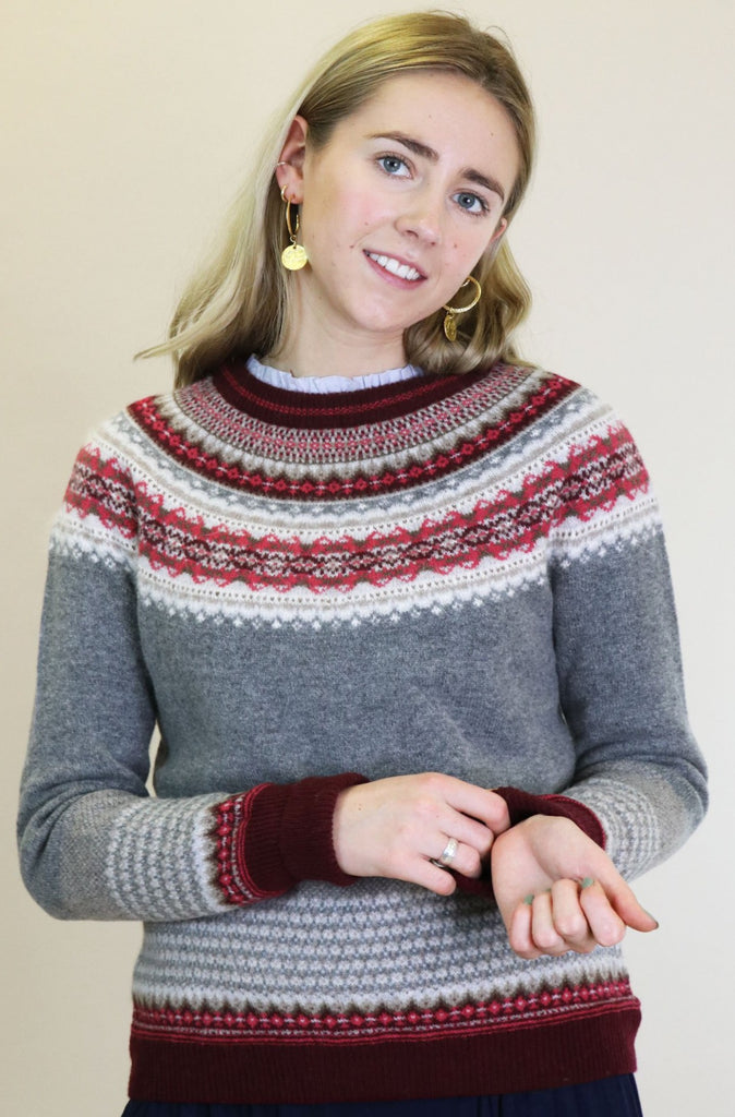 Alpine Merino Wool Sweater | Greyberry