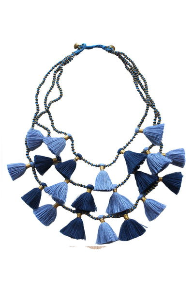 Gia Necklace | Denim