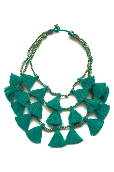 Gia Necklace | Emerald