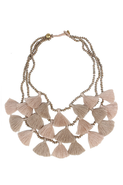 Gia Necklace | Sand