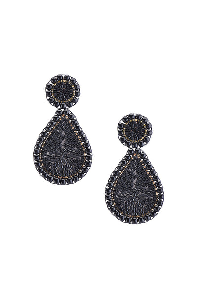 Guadalupe Earrings | Black