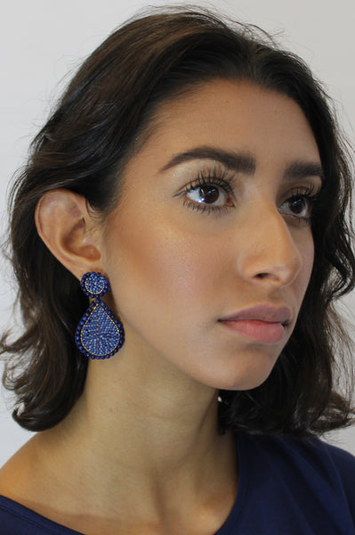 Guadalupe Earrings | Blue