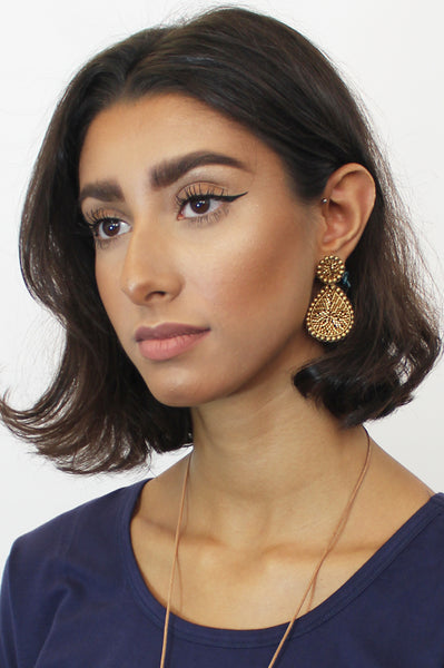 Guadalupe Earrings | Gold