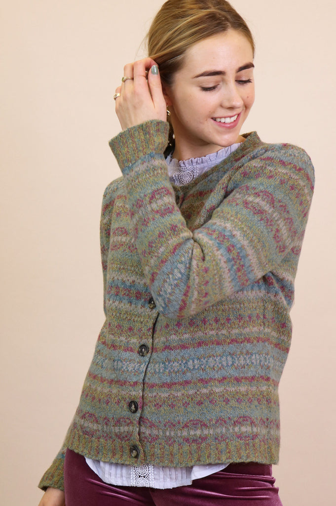 Westray Fairisle Cardigan | Haar