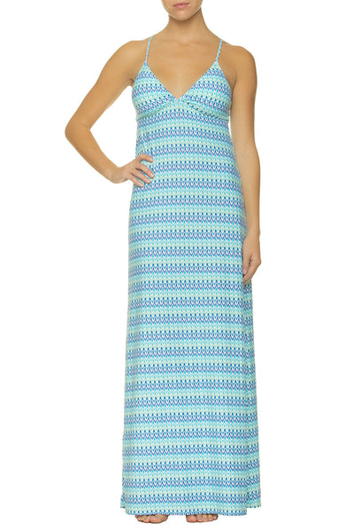 Del Rey Gyspy Dress by Helen Jon | Turquoise