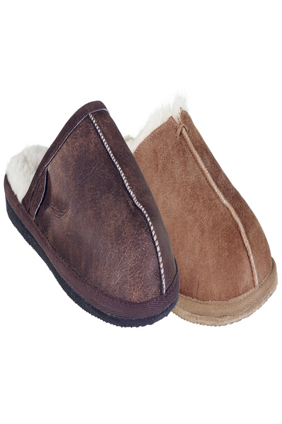 Hugo Men's Slippers by Shepherd's of Sweden | Oiled Antique