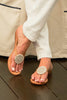 Chandi Disc Sandals | White