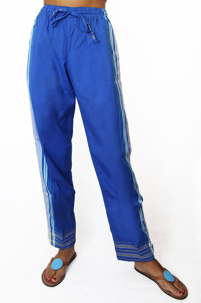 Unisex Kikoy Trousers | Blue