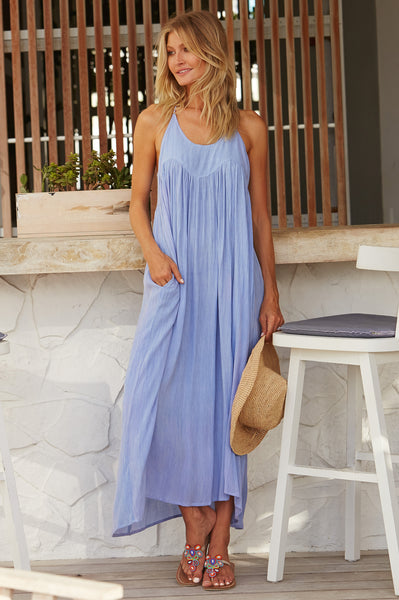 Lenu Maxi Dress | Light Lavender