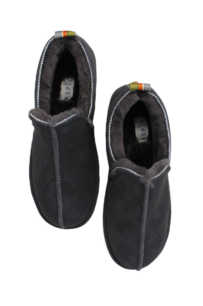 56706a46fa Lewis Men s Sheepskin Slippers with Ribbon