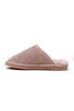Lilly Sheepskin Scuffs | Blush Pink - Aspiga