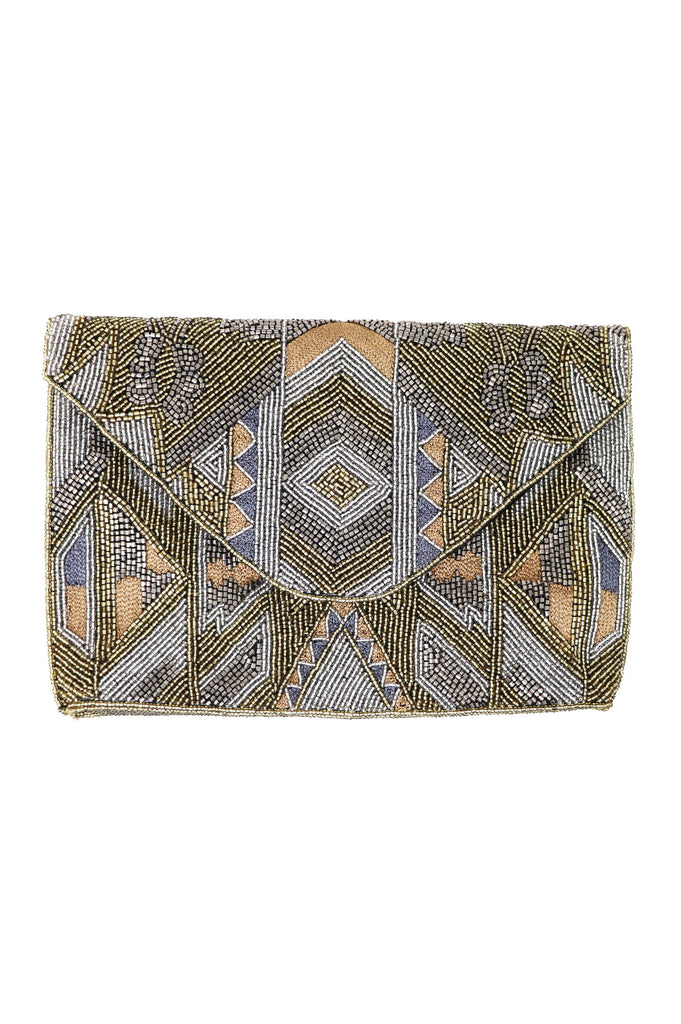Linda Beaded Hand Bag/Clutch | Goldshine