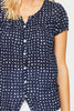 Lisbon Shirt | Navy/White Dots