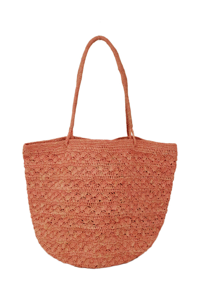 Lotus Beach Bag By Ivahona | Rose