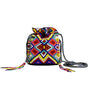 Meli Beaded Pouch Bag | Multi