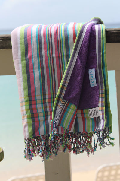 Narok Kikoy Towel | Purple
